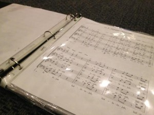 Choir Binder