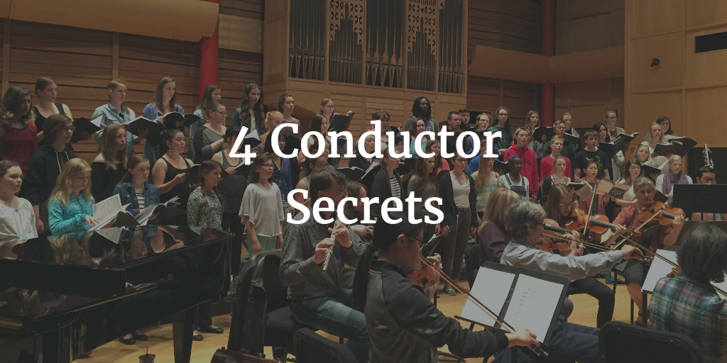 4 Conductor Secrets