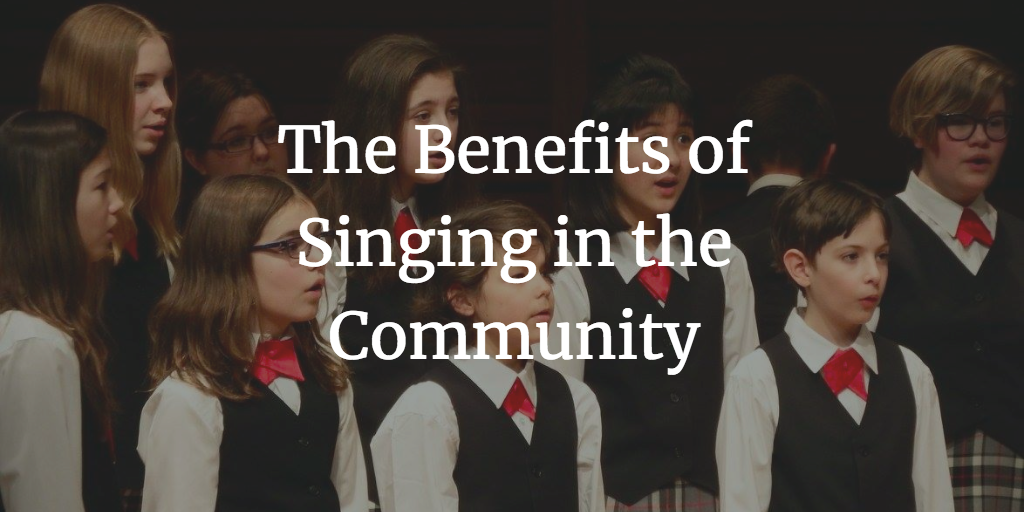 The Benefits of Singing in the Community Calgary Children's Choir